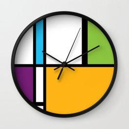 MONDRIAN ESSENCE Wall Clock