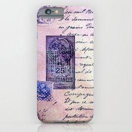 aérogramme iPhone Case