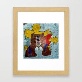 Banjoo & Kazooie Framed Art Print