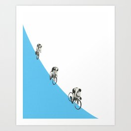 Riders on a Form Art Print