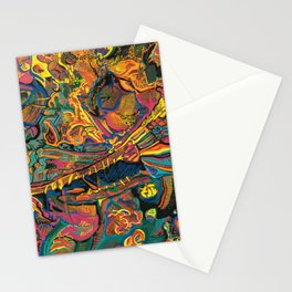 Red Atmosphere IX Stationery Cards