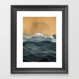 The Great Spring Waves Framed Art Print