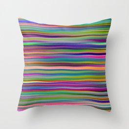 Luminous Waves Throw Pillow