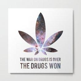 The Drugs Won (3) Metal Print