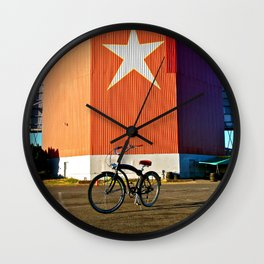 Nostalgic view Wall Clock