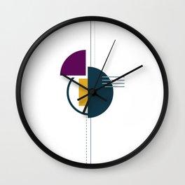 Simplicity - Geometric Print Wall Clock