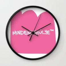 mindenkihülye™ pink Wall Clock