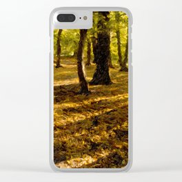 London Woods Clear iPhone Case