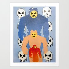 invaderz Art Print