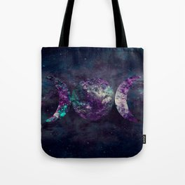 Triple Moon Goddess Universe Tote Bag