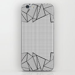 Grids and Stripes iPhone Skin