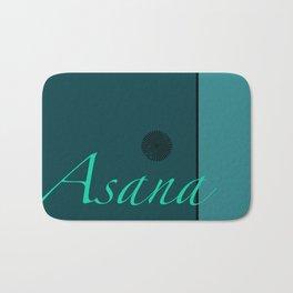 Asana Blue Bath Mat