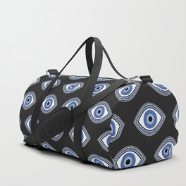 Greek Blue Eye Duffle Bag