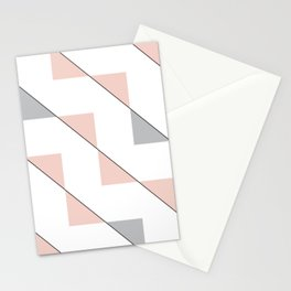 Twisting Triangles 01 Stationery Cards