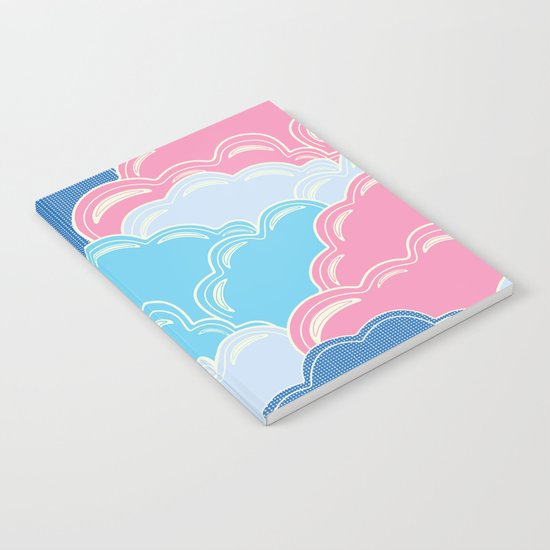 Pillows in the Sky (Clouds no.2) Notebook