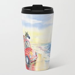 Go To The Beach Travel Mug