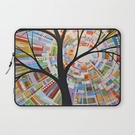 Abstract Art Landscape Original Painting ... Here Comes the Sun Laptop Sleeve