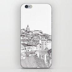Lisbon Cityscape iPhone & iPod Skin