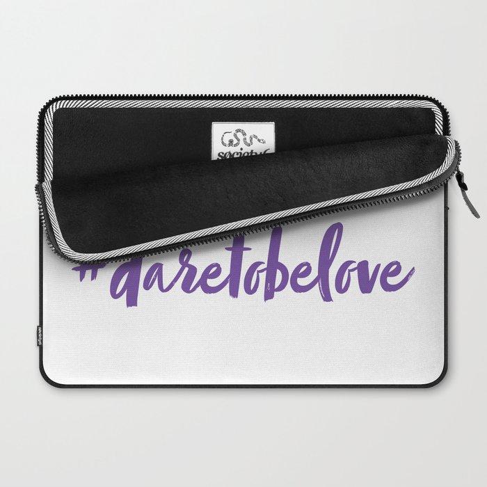 #daretobelove Laptop Sleeve