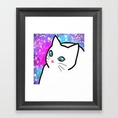 cat-213 Framed Art Print