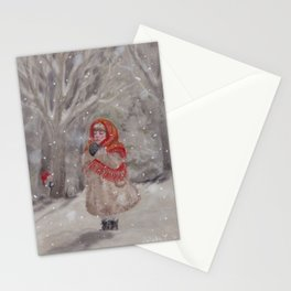 Hiding gnome Stationery Cards