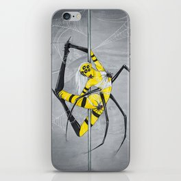 Poletober - Spider iPhone Skin