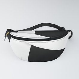 White Ribbon Fanny Pack