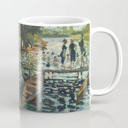 Bathers at La Grenouillere by Claude Monet Coffee Mug