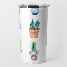 drawing cacti Travel Mug