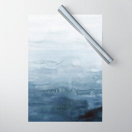 Indigo Abstract Painting | No. 4 Wrapping Paper