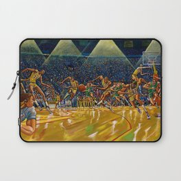 Classical African-American Masterpiece 'Magic and the boys' by Ernie Barnes Laptop Sleeve