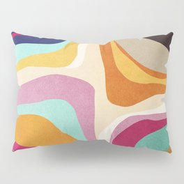 Psychedelic pattern 01 Pillow Sham