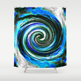 iDeal - Eye of the Storm 03 Shower Curtain