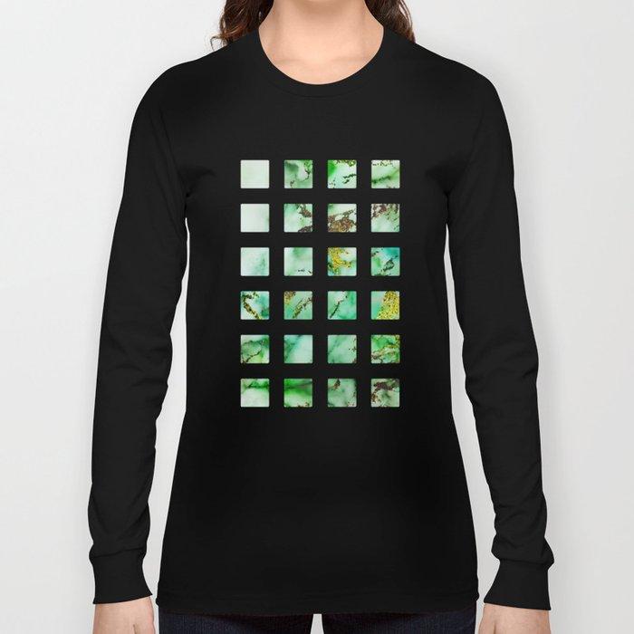 Marble Effect #3 Long Sleeve T-shirt