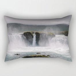 Waterfall 02 - Iceland Rectangular Pillow