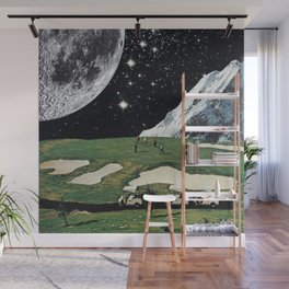 Supermoon Wall Mural