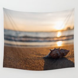Seashore Seashell Wall Tapestry