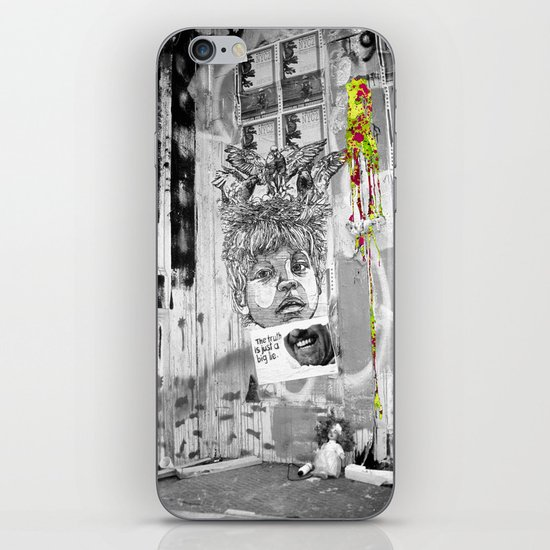 Truth Lies iPhone Skin