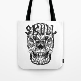 Skull - Día de Muertos / Day of the Dead Tote Bag
