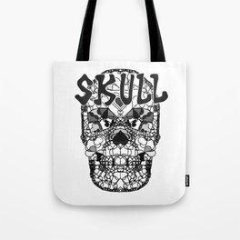 Skull - Día de Muertos / Day of the Dead Tote Bag