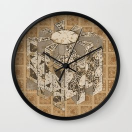 Hellraiser Puzzlebox C Wall Clock