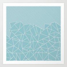 Ab Lines 45 Sea Art Print