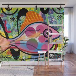 Goldfish Wall Mural