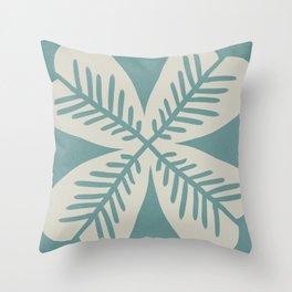 4 Leaf clover #659 Throw Pillow