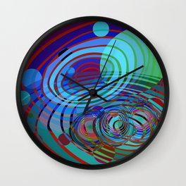 Outer Limit Wall Clock