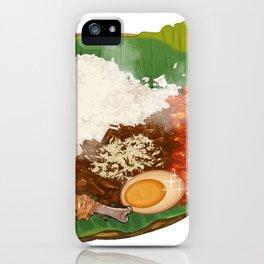 Nasi Gudeg iPhone Case