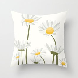 Summer Flowers III Throw Pillow