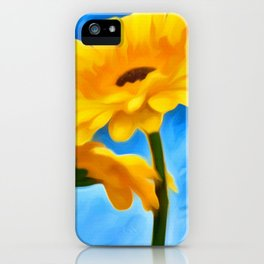 Flowers In The Sun iPhone Case