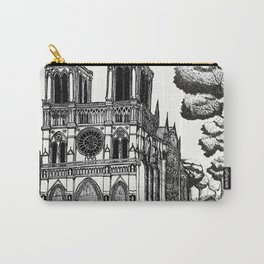 La Cathédrale Notre-Dame de Paris Carry-All Pouch