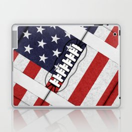4th of July American Football Fanatic Laptop & iPad Skin